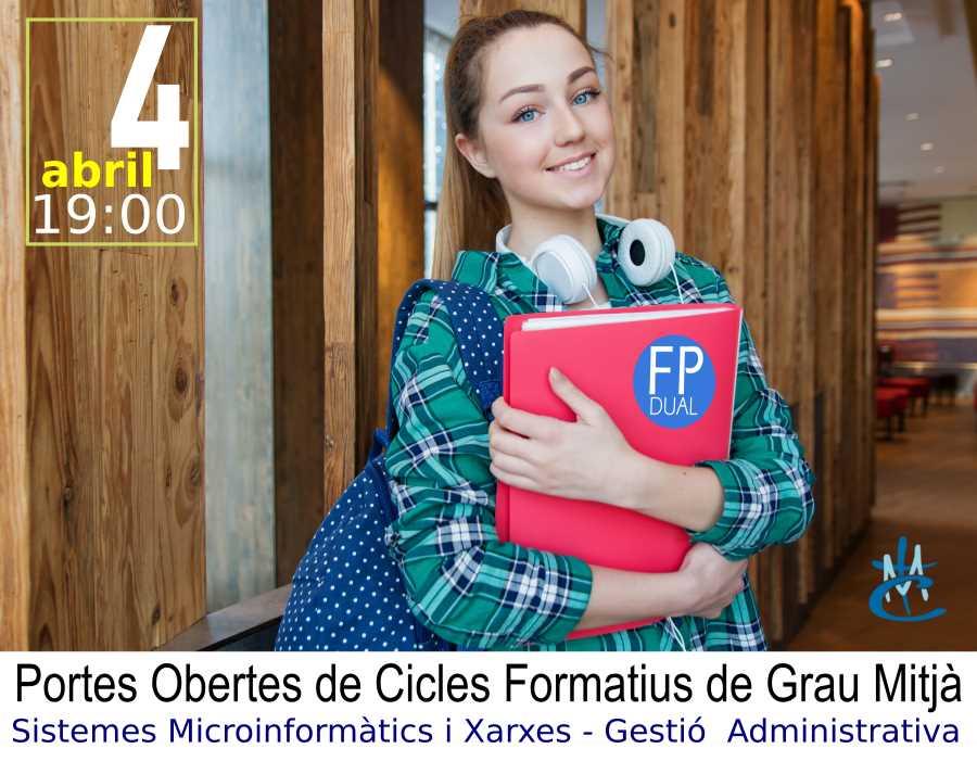 PORTE OBERTES FACEBOOK EVENTO REUS peque